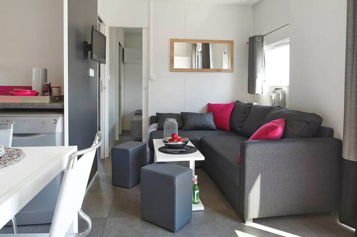 Luxuriöses Mobilheim Camping am Murner See - Wackersdorf - Bungalov