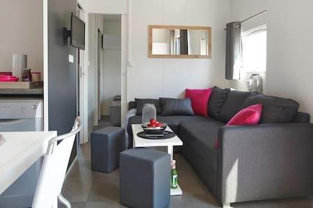 Luxuriöses Mobilheim Camping am Murner See - Wackersdorf - Bungalow