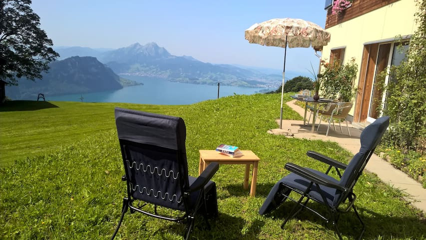 Rigi-Naturferien,  Ruhe mit Traum-Weit-u. Aussicht