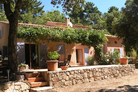Near St Tropez, lovely villa. - La Garde-Freinet