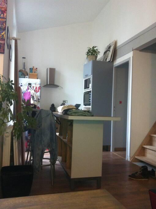 Chambre a louer dans duplex aux chartrons appartements for Location appartement bordeaux chartrons