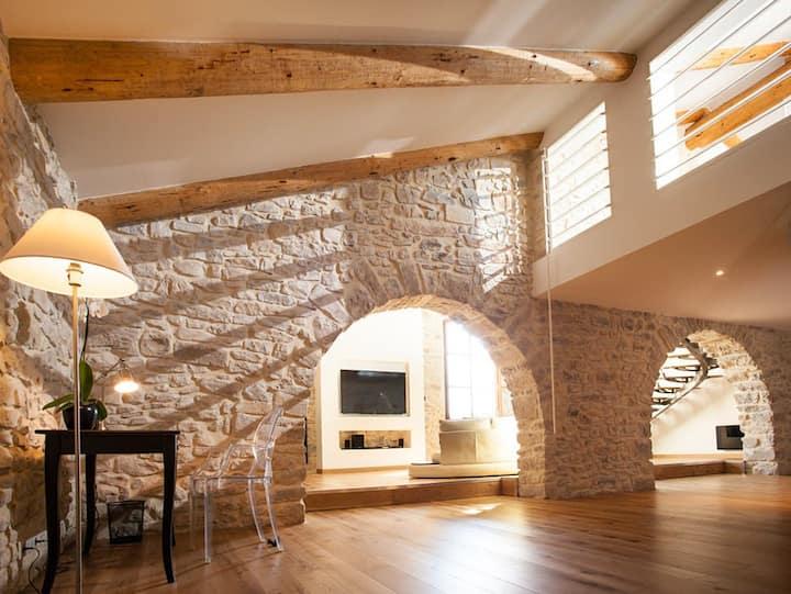 160m² for 2: Design loft Benjamin