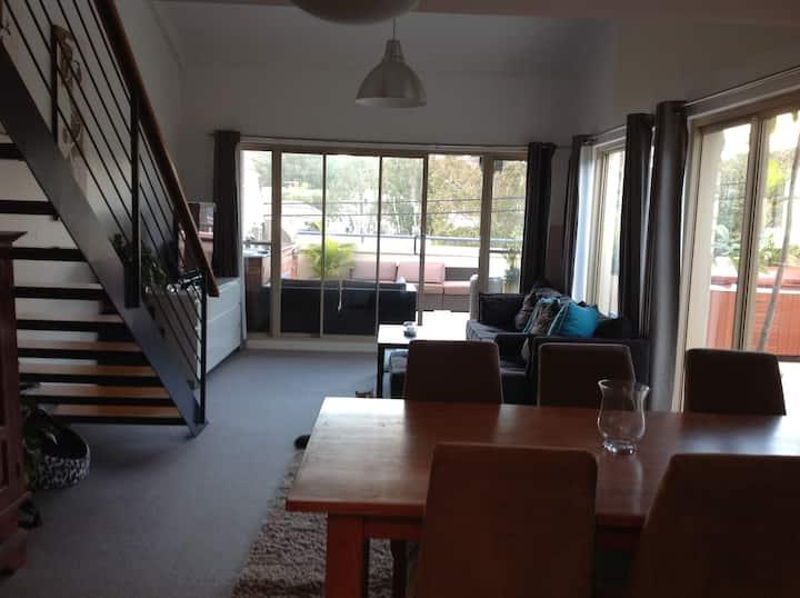 Appartement au dernier étage avec SPA