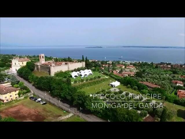 Dreizimmerwohnung im Schloss von Moniga