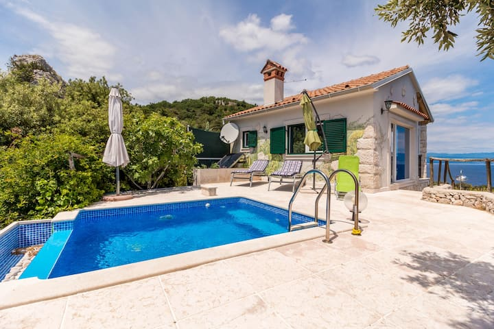 Villa Roccia Full Relax - Brsec - House