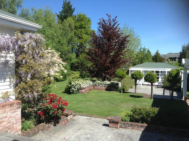Set in extensive gardens
