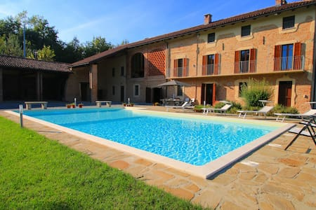 Luxury villa in Piedmont, Italy - Fubine - Casa de camp