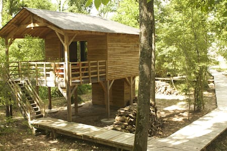 Ecolodge Forest Cabin, Loire Valley - Saint-Georges-des-Sept-Voies