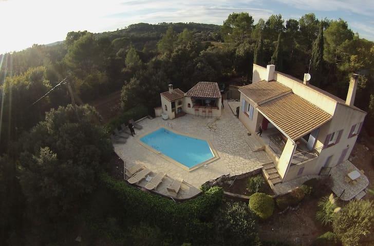 villa seul au monde - Le Thoronet - บ้าน