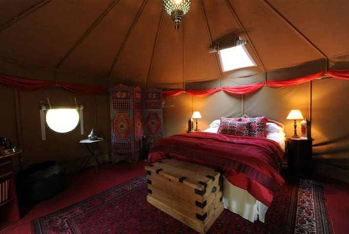 Glamping - The Moroccan Yurt - Kenton