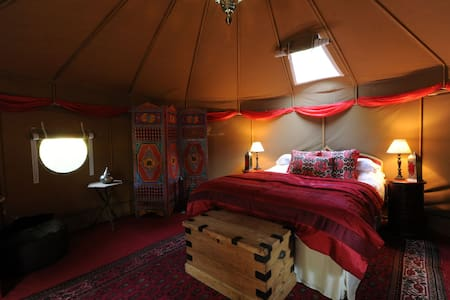 Glamping - The Moroccan Yurt - Kenton - Rundzelt