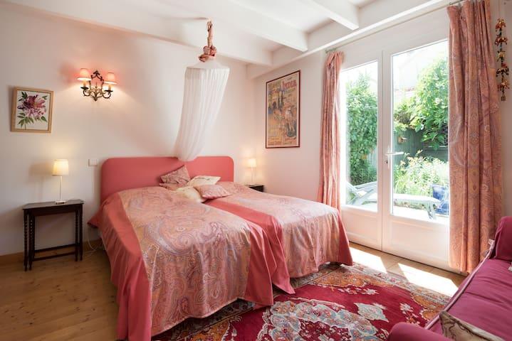 Chambre Perse twin beds en 90cm
