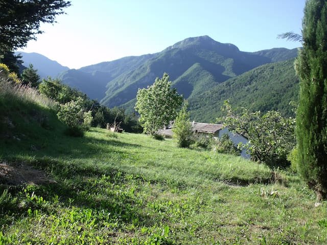 Camping in the Bendola Valley - Saorge