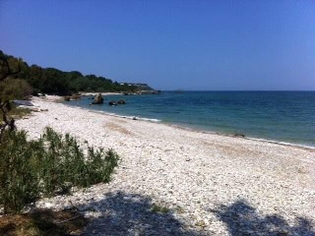 maison bord de mer sur plage sauvag - Vasto - Villa