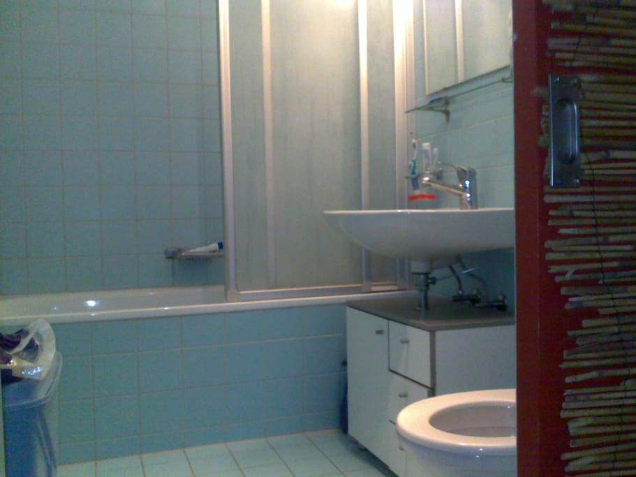 Bathroom/Toilet with shower