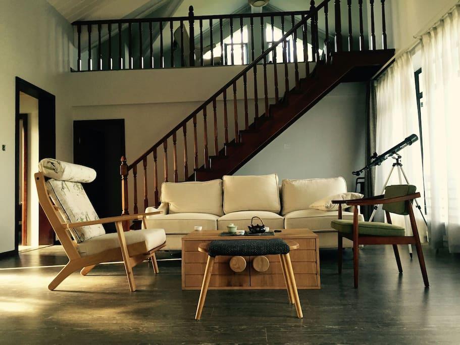 中式装修的客厅
