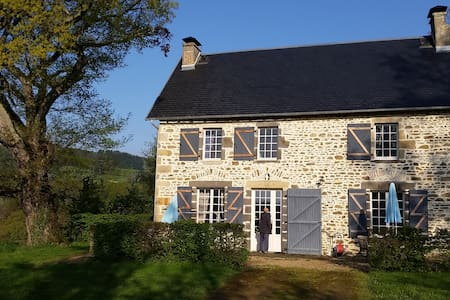 Prachtig landhuis in de Auvergne. - Ayat-sur-Sioule - Mökki