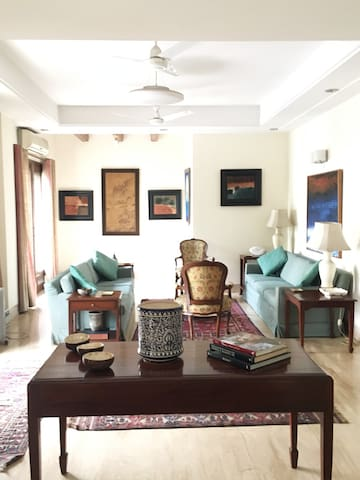 An elegant apartment in the heart of New Delhi