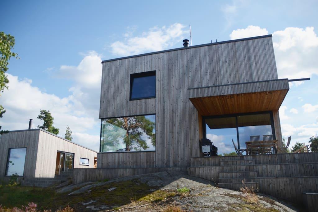 Säby Hill House built 2015