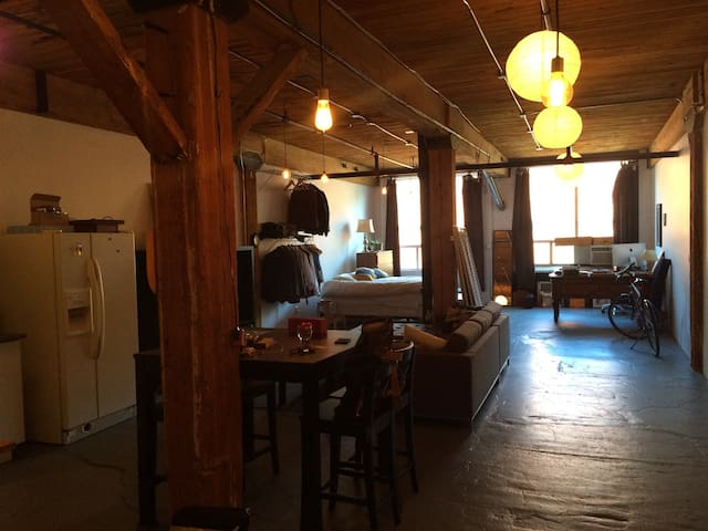 Centrally Located Artist's Loft