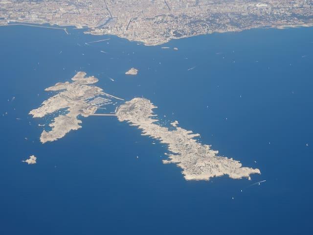 Marseille en mer, Île du Frioul II - Marseille - Lakás