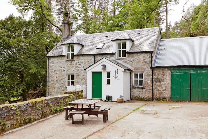 The Bothy, Eilean Shona Island - Acharacle - Huis