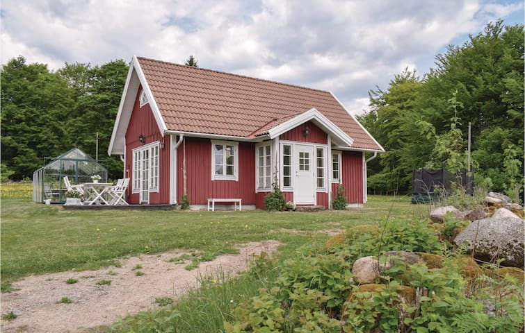 Holiday cottage with 2 bedrooms on 46m² in Simlångsdalen