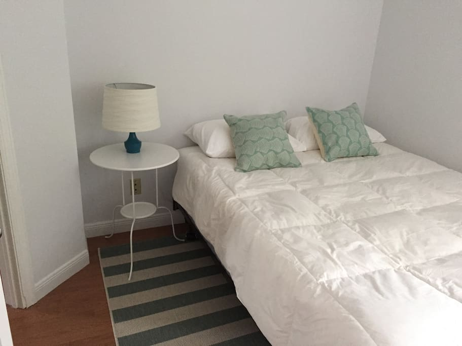 upstairs guest bed