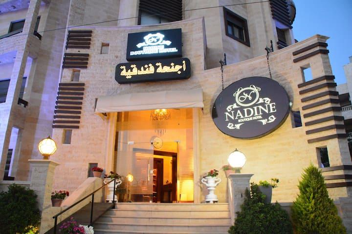 Nadine Hotel & Suites/Deluxe Double Room