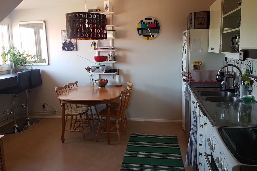 Kitchen, fully equipped and with dishwasher