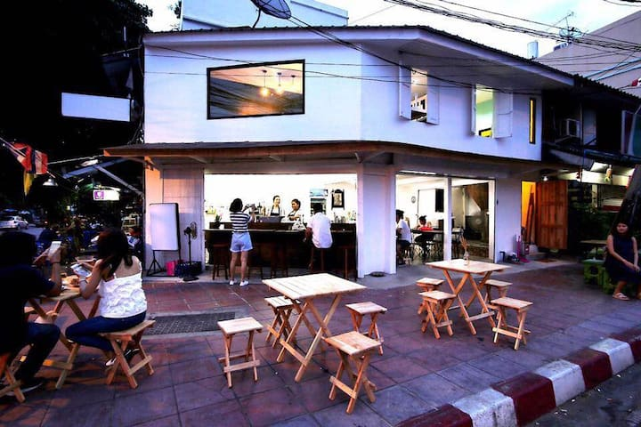 Rest Inn Nest, near Khaosan Road - Bangkok - Gjestehus