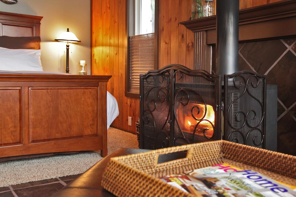 Wood stove for those blustery winter storms