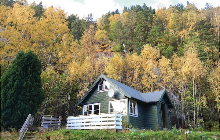 Awesome home in Vallavik with WiFi and 2 Bedrooms