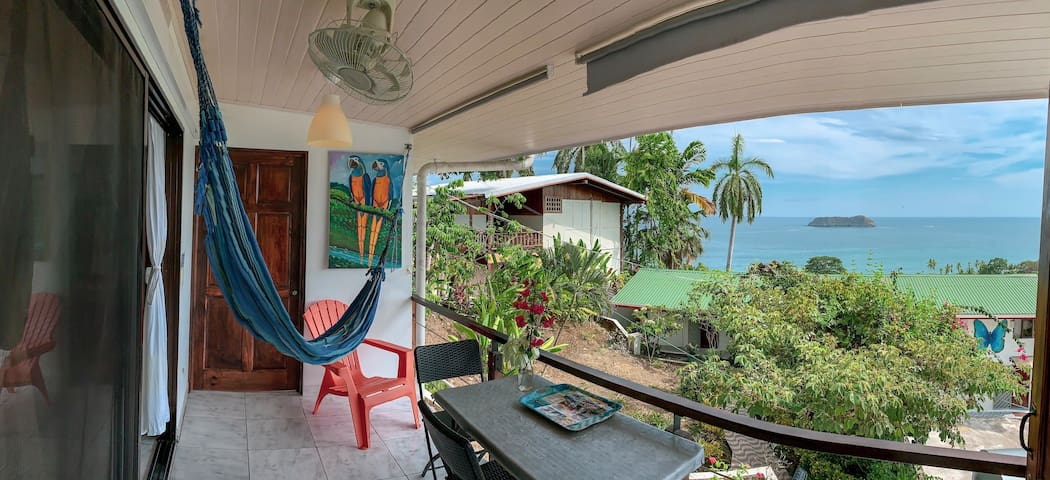 Ocean View  ~ Manuel Antonio ~ Terrace&Kitchen~A/C