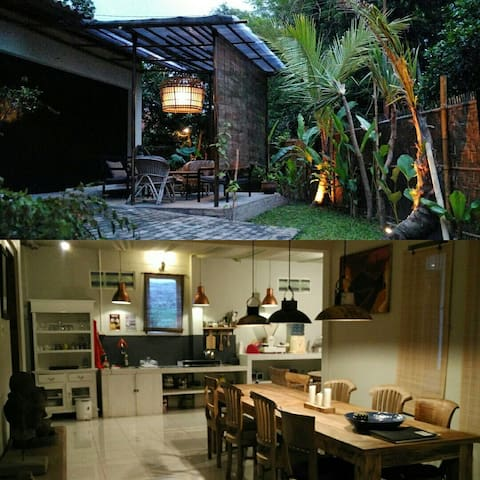 Rumah Lotus, Village House for 6 persons!