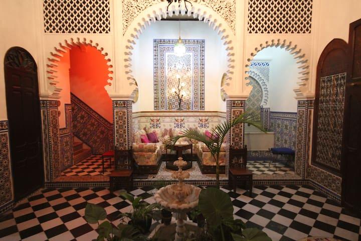 Riad FARACHA - Tetouan - Huis