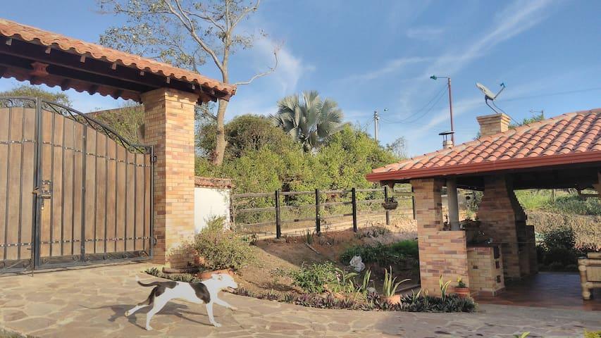 Cabaña Villa Belén Tranquilidad vía al aeropuerto - Lebrija