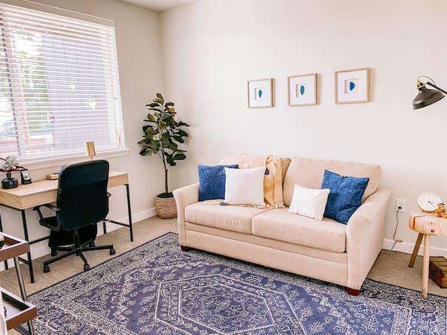 Boho Modern Private Bedroom in South Salt Lake