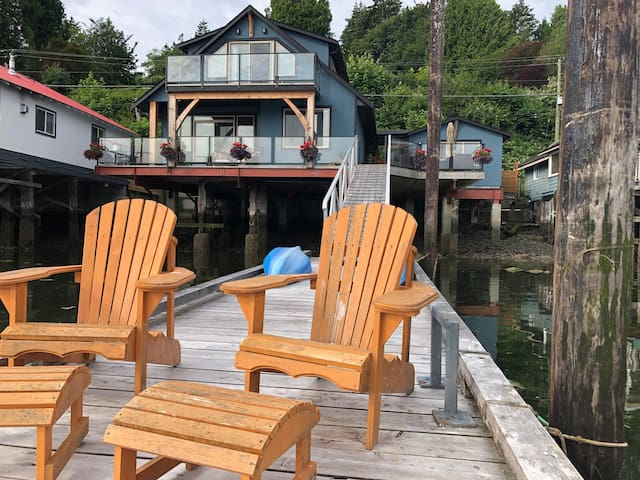Unique Waterfront Home in Cowichan Bay
