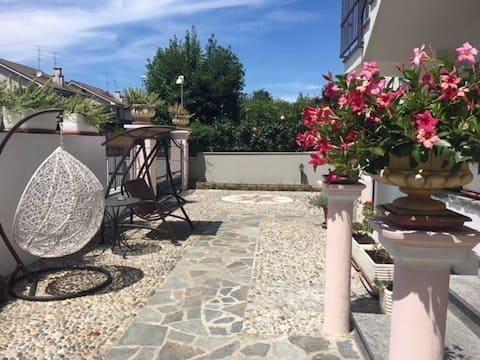 Apartment in villa near Monza