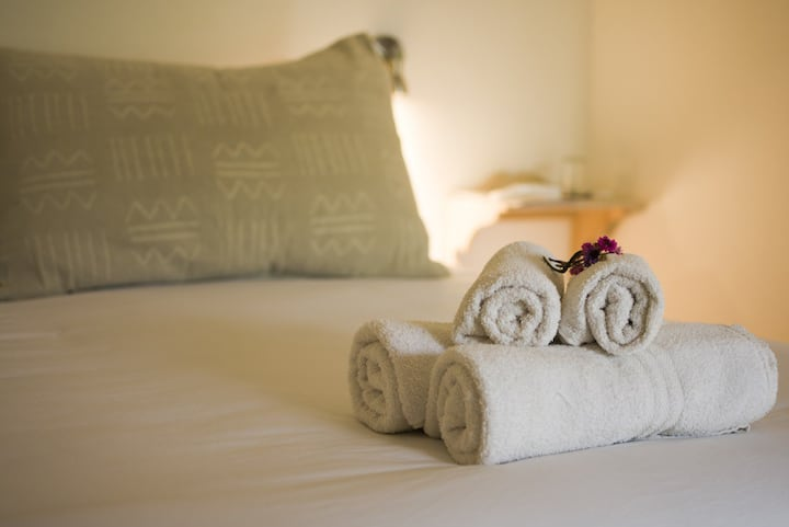 Suite privada doble, confort y relax