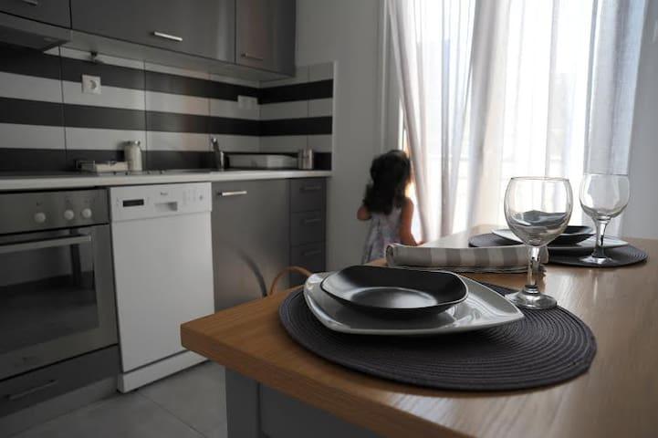 Apartment in Naxos, St George beach