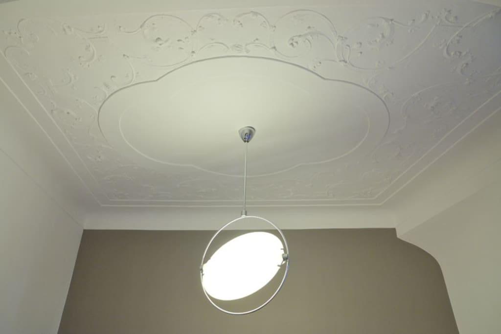 Romantische Stuckdecken / Romantic stucco ceilings