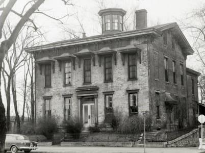 Historic Paris Sloan House 1850s - New Albany