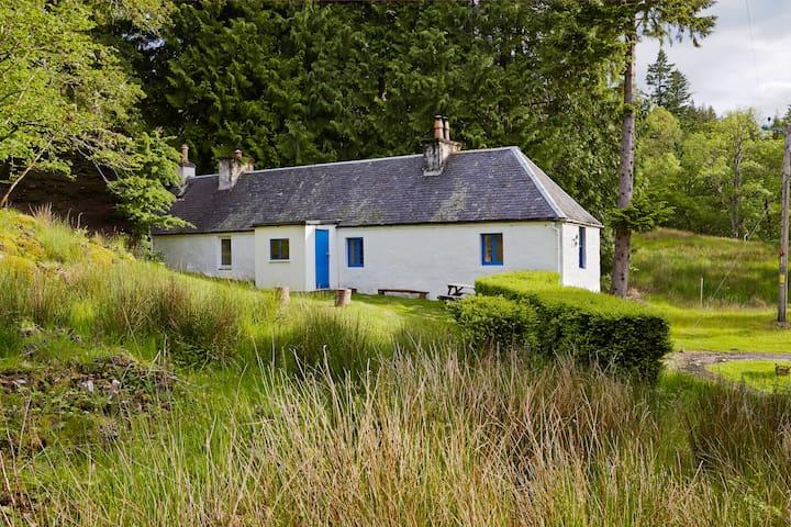 White Cottage, Eilean Shona Island - Acharacle - Casa