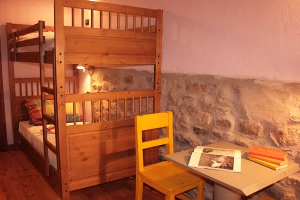 Lou Serpoul, il letto a castello