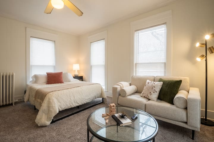 Cute and Cozy Studio Apt Minutes from Drake