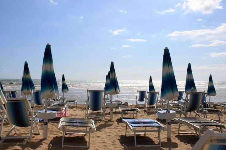 Vasto Marina center 100 m to the sea & P.zza Rodi