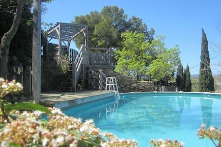 Villa Janet modernised c16 house - Fouzilhon