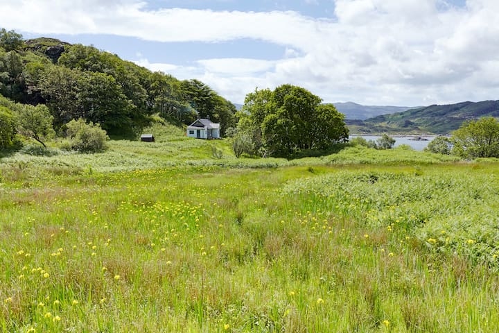 South Shore Cottage, Eilean Shona - Acharacle - Rumah